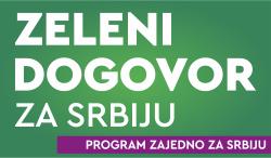 Zeleni dogovor za Srbiju.